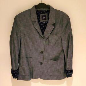 Blue/Gray Gap Factor Blazer